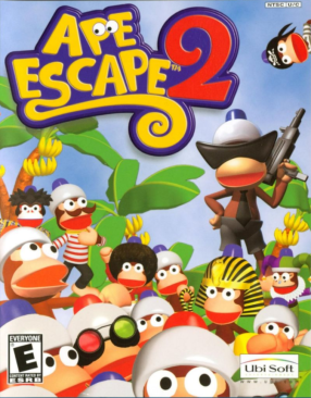 Ape escape artwork